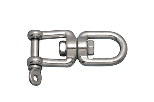 Stainless Steel 316 Anchor Swivel Eye and Jaw 22mm or 7/8