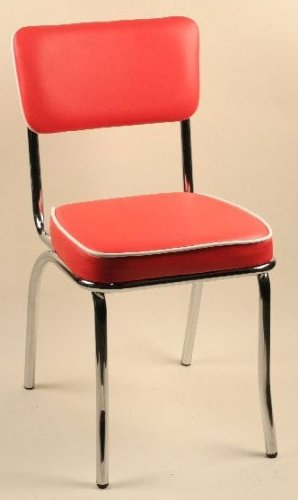 retro dining chairs ireland chrome frame black vinyl set of vintage leather ebay gumtree