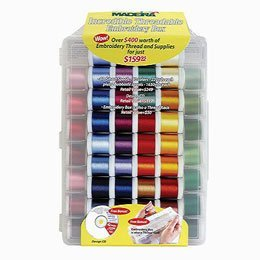 Madeira Incredible Threadable Gift Box - Rayon (82 (Madeira Machine Embroidery Thread)