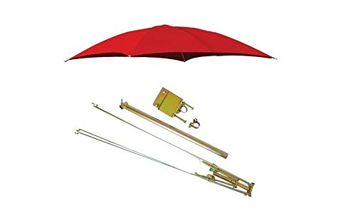 ROPS RED Case Int. Tractor Umbrella Canopy & Canvas Cover Only Farmer Bob's Parts 405967 (Spare Parts Umbrella)