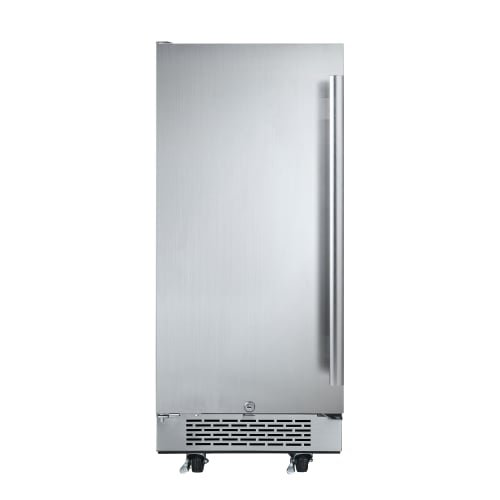Hinge Outdoor Refrigerator (Avallon AFR151SSODLH 3.3 Cu Ft Outdoor Built-In Fridge - Left Hinge)