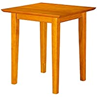 Shaker End Table, Caramel Latte
