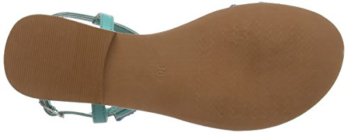 Sandal Tantra Mujer Sandalias Para Beaded Turquoise Etnich 7OqO10