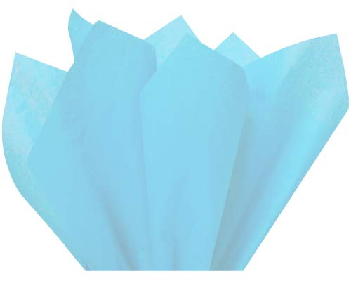 (Oxford Blue Wrap Tissue Paper 15 Inch X 20 Inch - 100 Sheets)