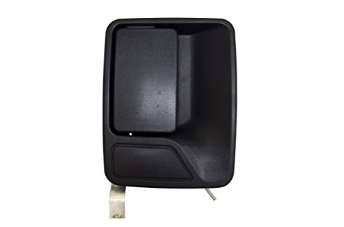 PT Auto Warehouse FO-3523A-RR - Outside Exterior Outer Door Handle, Textured Black - Passenger Side Rear