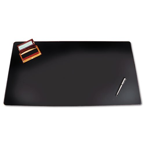 - Artistic : Westfield Designer Desk Pad with Decorative Stitching, 38 x 24, Black -:- Sold as 2 Packs of - 1 - / - Total of 2 Each