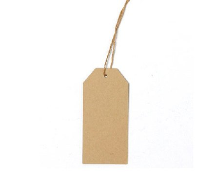 ... : 20 Gift Tags Large Brown Blank Hang Tag 4.5x9.5cm - 445x374 - jpeg