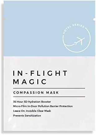 In-Flight Magic Blue Dragon Compassion Mask, Face Mask Treatment for Sensitive Skin, Face Mask for Travel, Fundraiser for the Blue Dragon Foundation