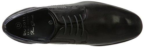 Bugatti 311151052500, Derby para Hombre Gris (Dark Grey)