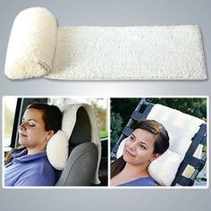 Foam Neck Roll, Great Travel Pillow for Car or Plane.