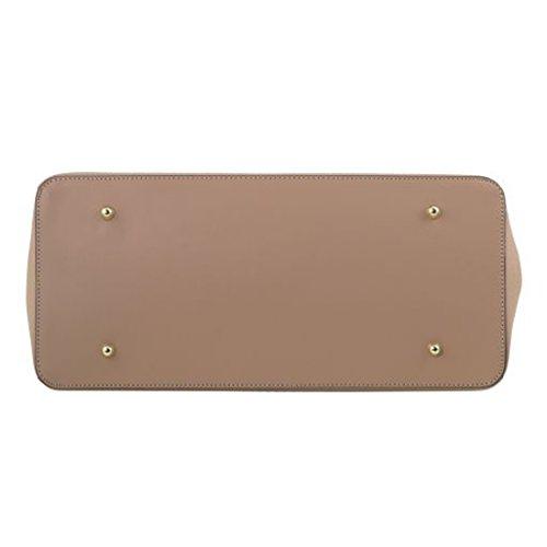 El Envío Libre 2018 Tuscany Leather Elettra - Borsa a mano media in pelle ruga con accessori oro - TL141548 (Nude) Talpa Scuro Con Paypal En Línea Barata De Bajo Costo Para La Venta Envío Libre Ebay Aclaramiento De 100% Auténtico Qd0mAJ