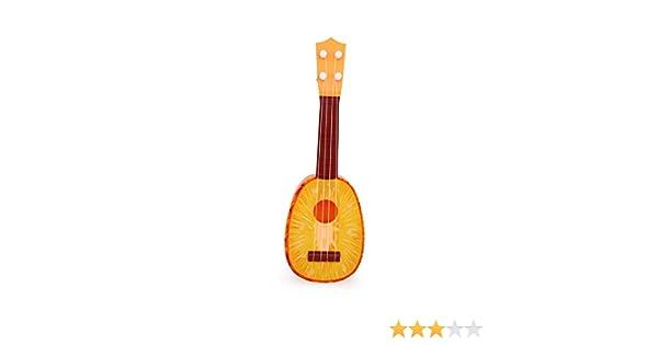 Guitarra de frutas Ukulele Instrumento Estilo Piña Guitarra ...