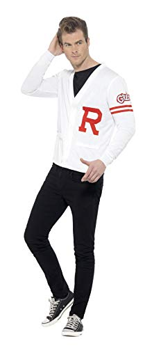 Grease Rydell Prep Costume White With Sweater -