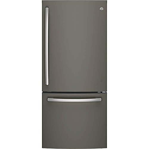 - GE GDE21EMKES Bottom Freezer Refrigerator