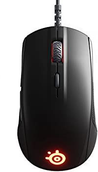 SteelSeries Rival 110 Optical Gaming Mouse with RGB Lighting