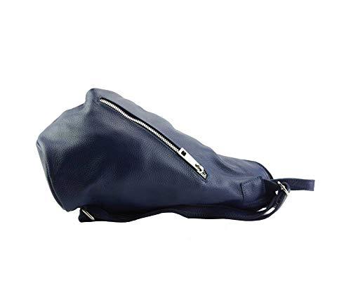 Souple Sac Dos Foncé Florence À Leather Sacs 9200 Clapton En Grainé Cuir Finement Bleu Market 8qxwTFxnf