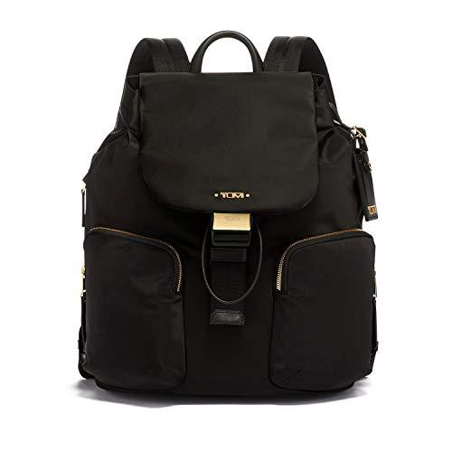 TUMI - Voyageur Rivas Backpack - 13 Inch Computer Bag for Women - Black (Designer Outlet London)