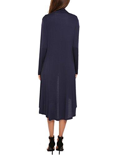 Uni Meaneor Femme Longue Long Ouvert Manche Haut Casual Cardigan Gilet xqqXaHwZ