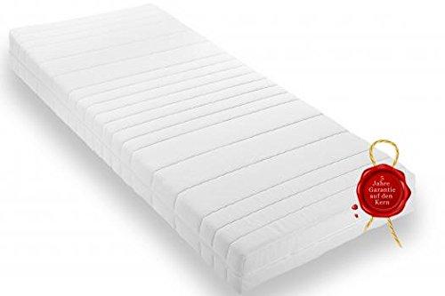 Wohnorama Qualitäts Rollmatratze 90x200 ca. 16cm Gesamthöhe eine Rollmatratze inkl. Klimafaser, Öko-Tex 100, 4 Seiten Reißverschluss,Schadstoffgeprüft LGA, 5 Jahre Garantie* eine Komfortschaummatratze die für Allergiker geeignet ist!