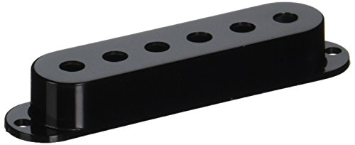(Fender Vintage Strat Pickup Cover Set, Black)