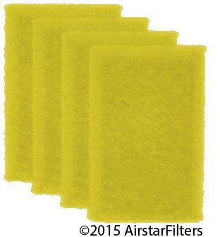 18 x 18 x 1 - 4-Pack Dynamic Air Replacement Filter Refil...