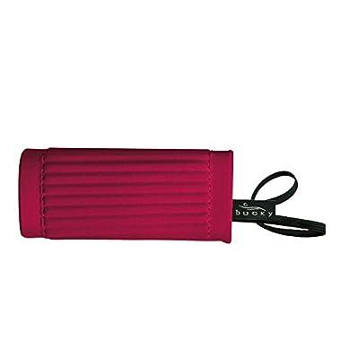 Bucky Cushioned Identigrip Bag ID Handle Wrap Luggage Bag Tag Accessory - Red
