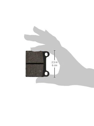 4-teilig Scheibenbremse TRW GDB648 Bremsbelagsatz