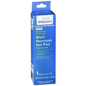 Walgreens Wart Remover Pen, .04 oz