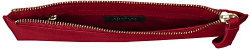 Armani Jeans pochette woman Pvc Plastic geranium