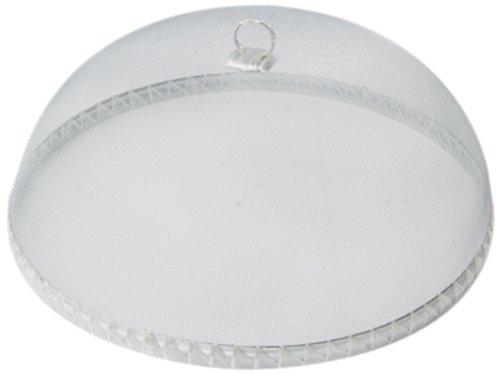 Woodard & Charles Round White Food Domes, (Round White Food)
