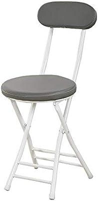 Las sillas apilables, silla de la PU de cuero plegable, sillas de ...