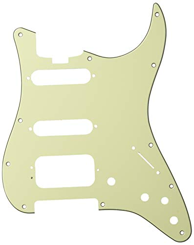 Fender Elite Strat Pickguard HSS Mint Green - Strat Hss Fender
