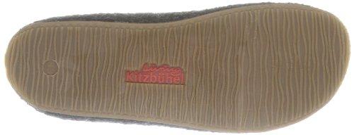 Living Kitzbühel Slipper Schweizer Kreuz Unisex-Kinder Pantoffeln Grau (anthra 600)