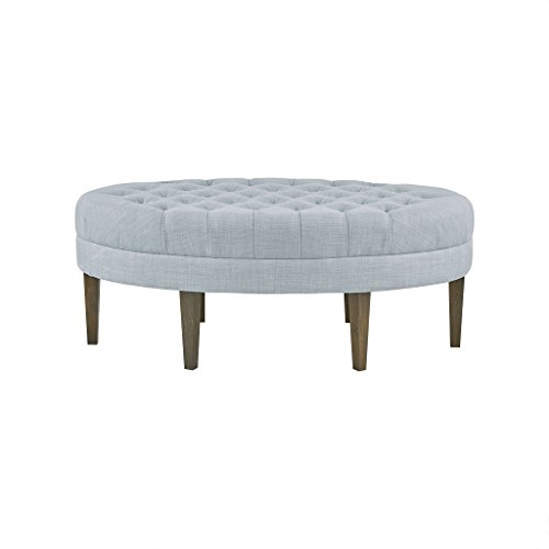 Martin Surfboard Tufted Ottoman Dusty Blue See Below