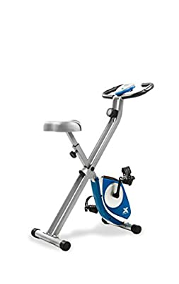 XTERRA FB150 Folding Exercise Bike, Silver by SPIRIT FITNESS -- DROPSHIP
