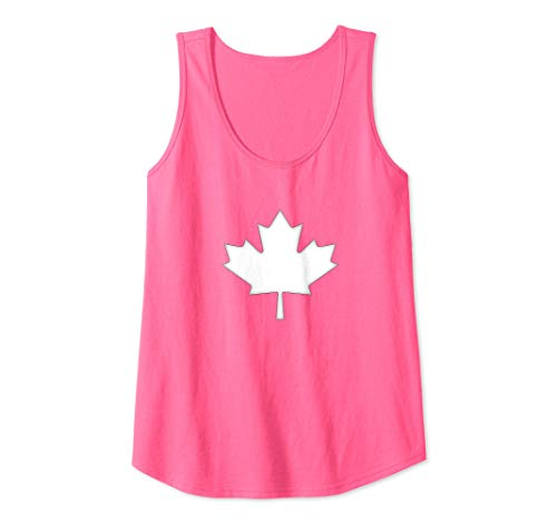 (Womens Canada Maple Leaf Tank Top )