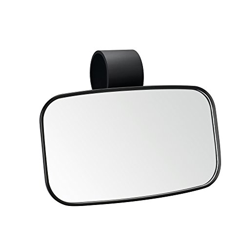 ar View Center Mirror - High Impact ABS Housing with Shatter-Proof Tempered Glass Mirrors ()