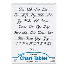 PACON CORPORATION CHART TABLET 24X32 1 RULED 25 CT (Set of 12) by Pacon