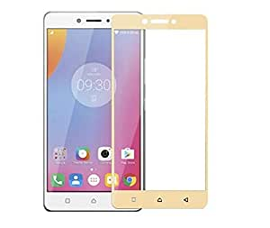 Clear Tempered Glass Screen Protector with Golden Frame For Htc_Desire 830