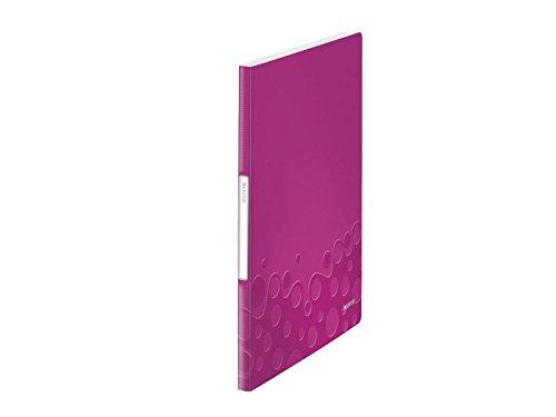 20 Pockets Polypropylene - Leitz 938985 A4 Polypropylene Folder with 20 Pockets - Assorted Colours