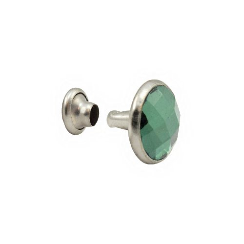 Springfield Leather Company Emerald Green 5mm Crystal Rivets 100pk