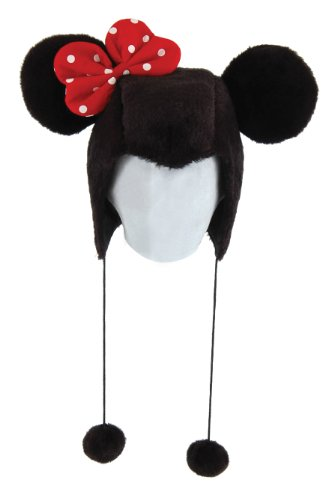 Disney Minnie Mouse Adult Hoodie Hat by elope -