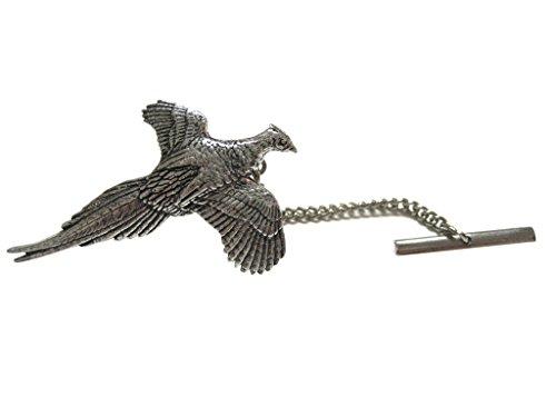 (Kiola Designs Pheasant Bird Tie Tack)