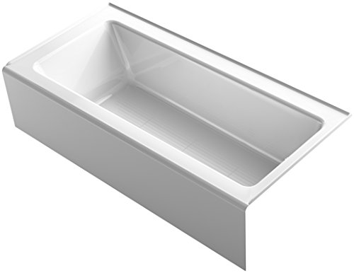 "Kohler 848-0 Bellwether 66"" x 32"" Alcove Bath with Integr..."