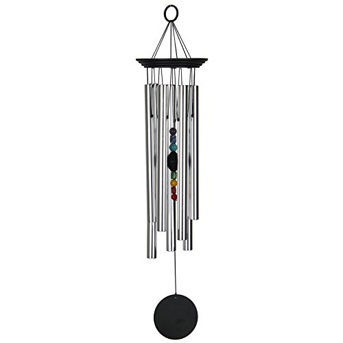 Woodstock Large Chakra Chime, Seven Stones- Eastern Energies Collection by Woodstock Chimes