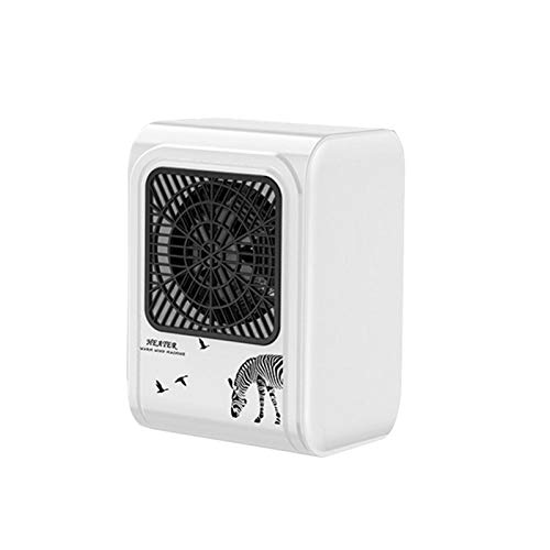 aniceday Mini Fan Heater Portable Electric Space Heater With Over Temperature Protection For Home Office Car,500w…