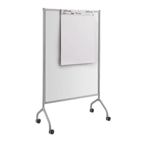 Safco Products 8511GR Impromptu Full Whiteboard Screen, 42