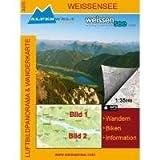 Luftbildpanorama & Wanderkarte - Weissensee