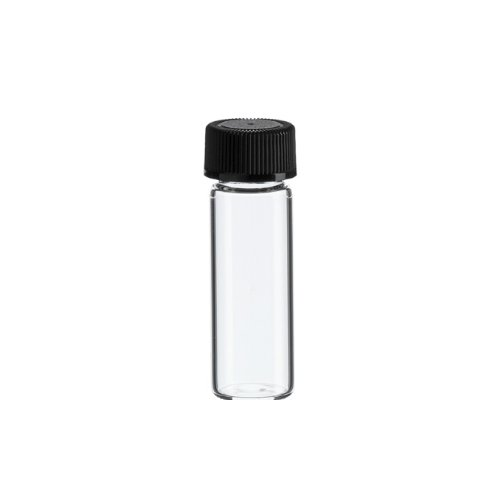 1 Dram Clear Glass Vial - Screw Cap (Pack of 144)
