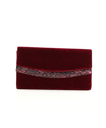 5 5 cm bordeaux Eferri Portafoglio Glamour x 16 rosso da Tom Burdeos x 30 BOLSO donna qaz7wqZ